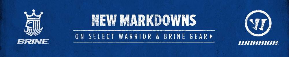 Warrior and Brine Markdowns